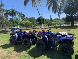 Quads auf Samaná
